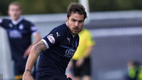 Falkirk midfielder Paul Paton