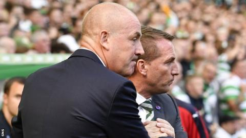 Mark Warburton and Brendan Rodgers