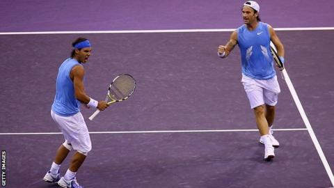 Nadal and Moya