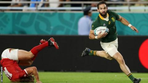 South Africa 66-7 Canada: Springboks seal Rugby World Cup quarter-final place - The Reports