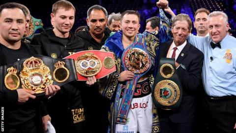 Golovkin v Saunders chances diminish as Canelo talks re-open