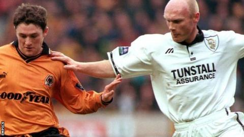 Neil Aspin came up against Wolves' Robbie Keane when his playing career with Port Vale reached second-tier level