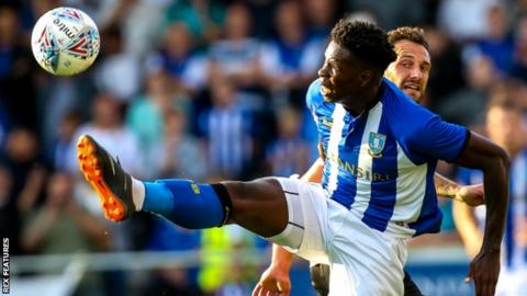 Lucas Joao in action for Sheffield Wednesday