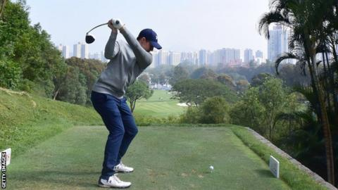 Chawrasia leads from Fitzpatrick in Hong Kong