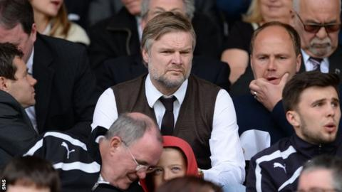 Steven Pressley has previously managed Falkirk in Scotland's top flight