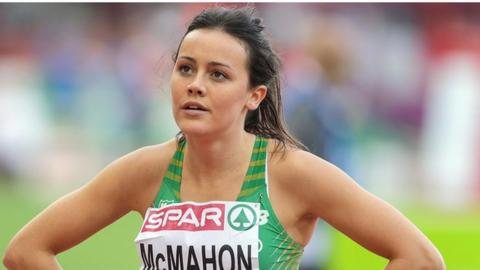 Christine McMahon reached the semi-finals of the European Championships in 2014