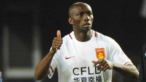 Former Cameroon captain Stephane Mbia