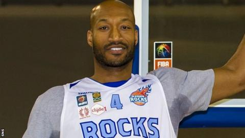 Sterling Davis's Glasgow Rocks have won 12 consecutive games in all competitions
