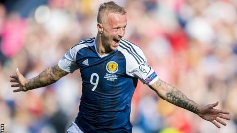 Scotland striker Leigh Griffiths