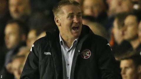 Dean Smith has been manager at Bescot since January 2011
