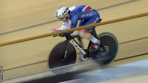 Para-cycling Track World Championships: GB's Jody Cundy & Katie Toft win gold