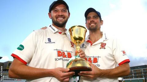 Nick Browne and Sir Alastair Cook