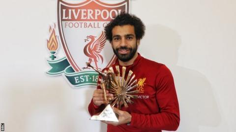 Liverpool's Mohamed Salah named African footballer of the year