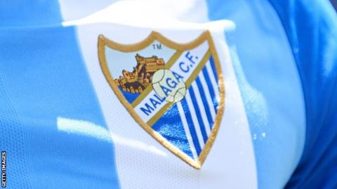 The Malaga club badge
