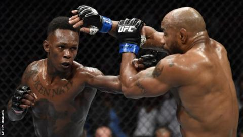 UFC 248: Yoel Romero makes weight for title fight against Israel Adesanya