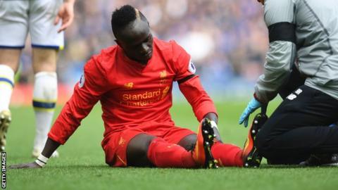 Sadio Mane: Liverpool forward set to return to training