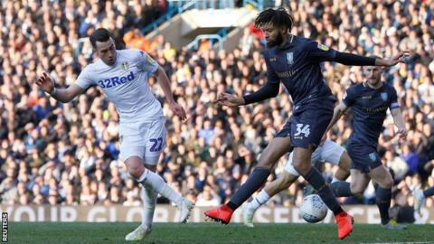 Jack Harrison scores for Leeds
