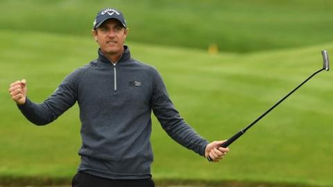 Open de France: Nicolas Colsaerts ends seven-year wait for victory