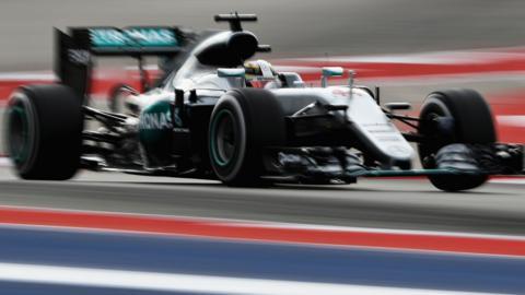 Lewis Hamilton US GP