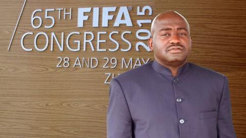 Liberia FA president Musa Bility