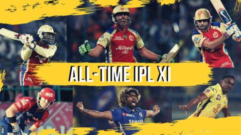 IPL: The best team of all time - as picked by BBC Sport readers