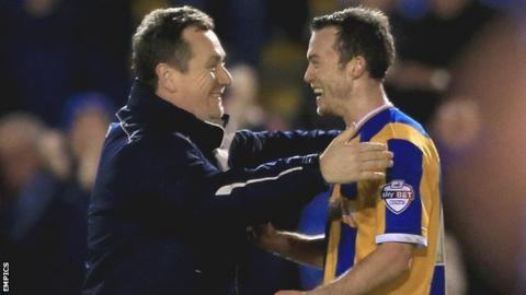 Shaun Whalley was brought to Shrewsbury by previous Town manager Micky Mellon in June 2015