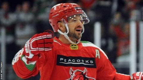 Devils forward Joey Martin