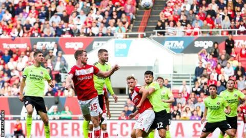 Marley Watkins scores against Sheffield United