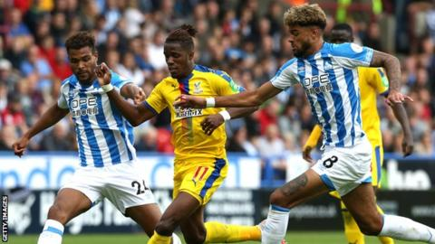 Zaha Returned To The Palace Side After Missing The Southampton Defeat With A Groin Strain