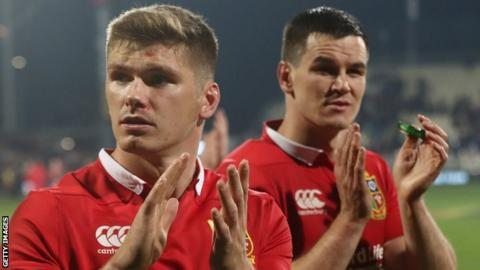 Farrell and Sexton impressed together in the final quarter of the first Test