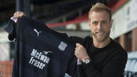 Dundee defender Andrew Davies