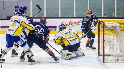 Edinburgh Capitals in action