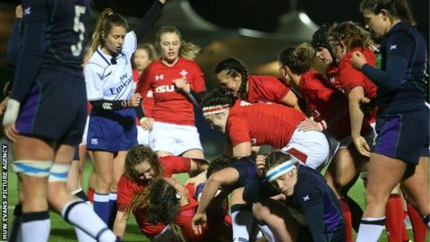 Siwan Lillicrap's late try saw Wales beat Scotland in last season's Six Nations
