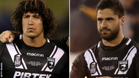 Kevin Proctor (left) and Jesse Bromwich
