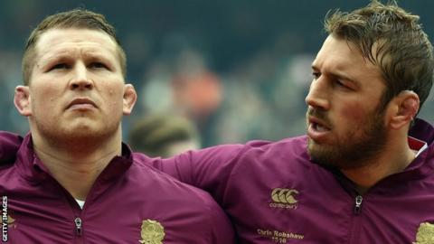 Chris Robshaw (right) and Dylan Hartley
