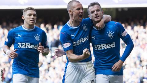 Rangers beat Glasgow rivals Partick Thistle at Ibrox