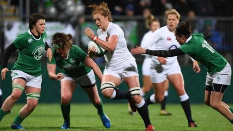 England v Ireland in the Women's Six Nations