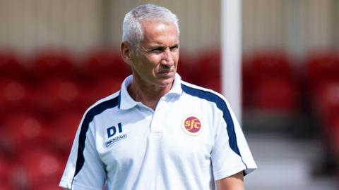 Davie Irons' Stenhousemuir side were knocked out of the Scottish Cup by Penicuik United