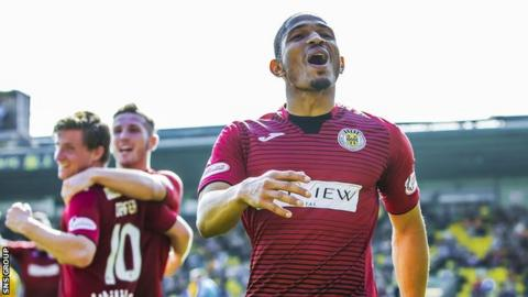 Simeon Jackson scored six Premiership goals for St Mirren last season