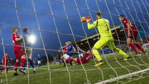 Championship leaders County were humbled by Queen of the South in a 4-0 defeat in Dumfries in January