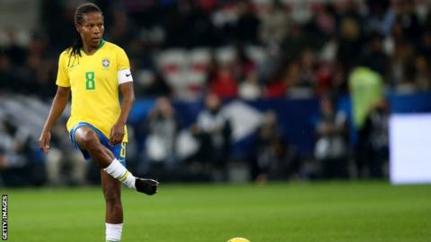 Formiga will become the first footballer ever to participate at seven World Cups.