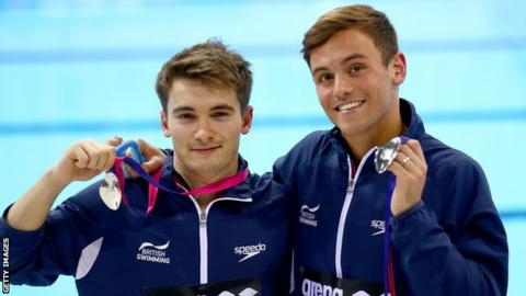 Dan Goodfellow and Tom Daley