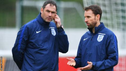 Paul Clement and Gareth Southgate