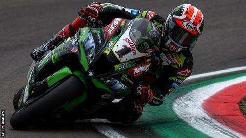 Jonathan Rea leads this year's World Superbike series by 81 points