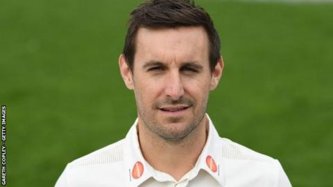 Former Worcestershire captain Daryl Mitchell took over as PCA chairman in 2017