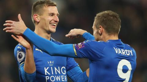 Albrighton and Vardy