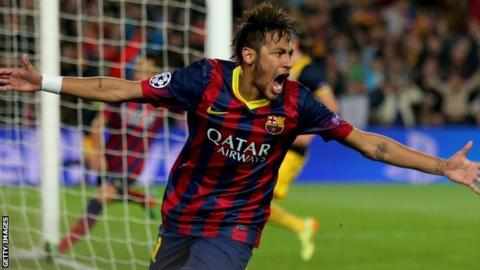 Former Barcelona striker Neymar