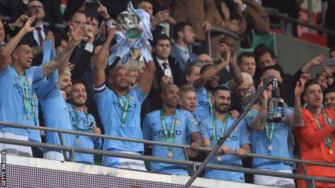 Manchester City lift the EFL Cup