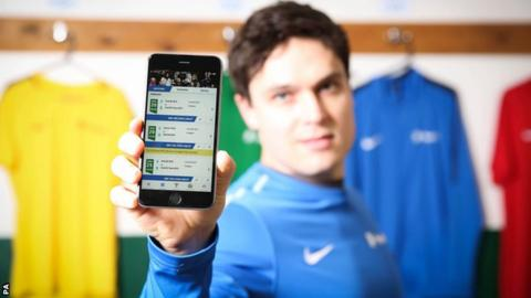 The FA Matchday app