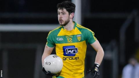 Ryan McHugh sustained an ankle injury late in Donegal's draw against Monaghan on Sunday